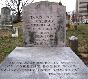 Tumba de F Scott Fitzgerald