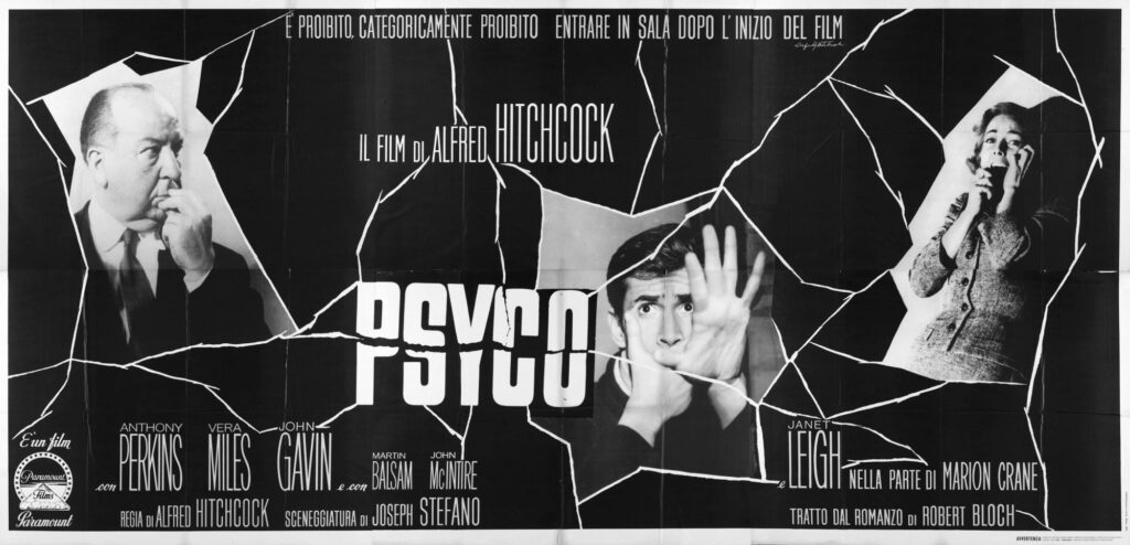 Psicosis poster