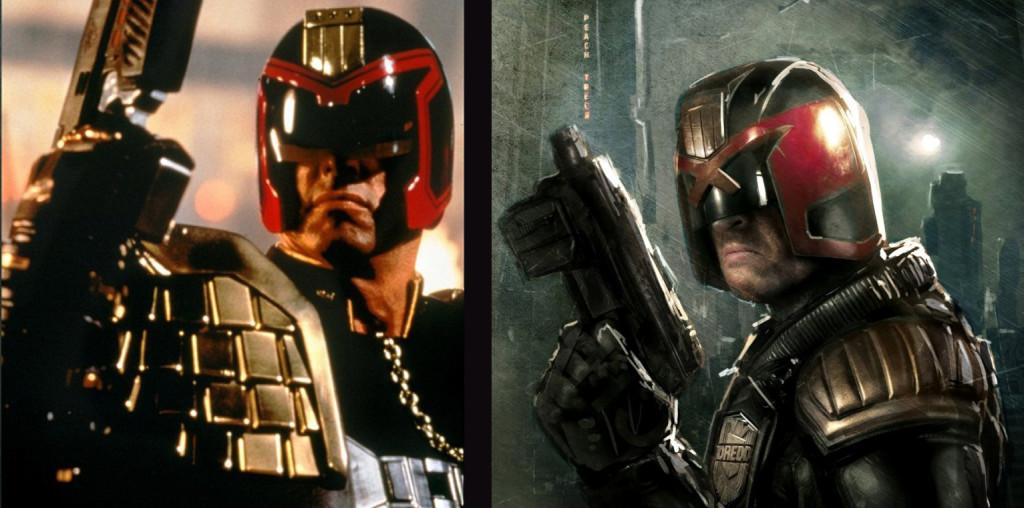 Dredd - Stallone vs Urban