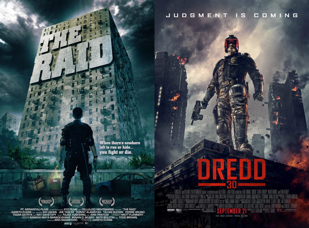 Dredd - The Raid vs Dredd