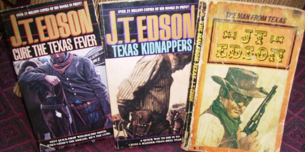J T Edson Libros