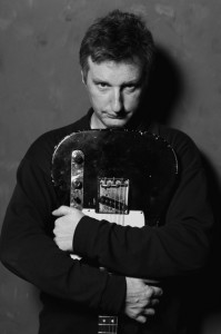 Billy Bragg in Stripped Sweater