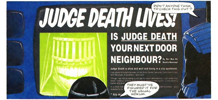 Judge Death Lives