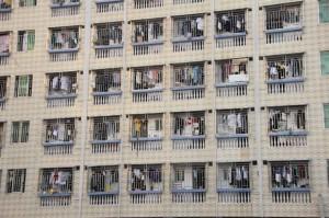 Rejas ventanas Foxconn City