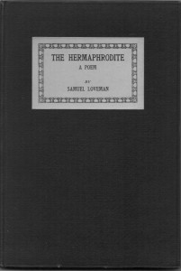 The Hermaphrodite and Other Poems