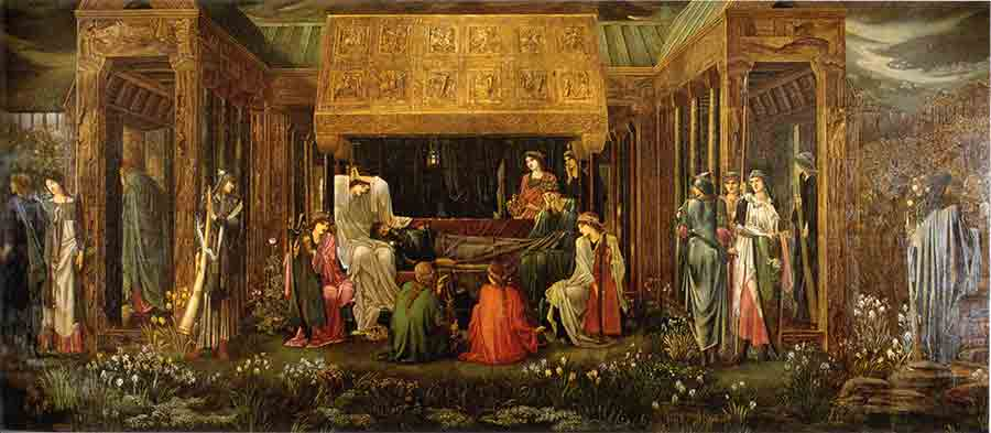 The-Last-Sleep-of-Arthur-in-Avalon---Burne-Jones