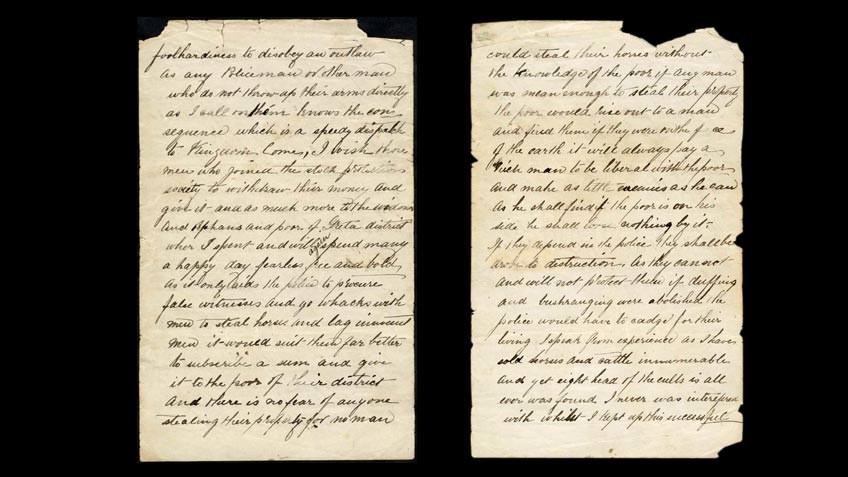 Jerilderie Letter Spread
