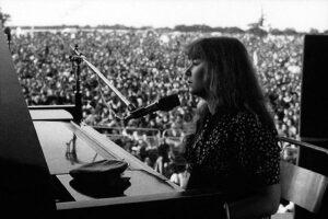 Sandy Denny en el Lincoln Folk Festival