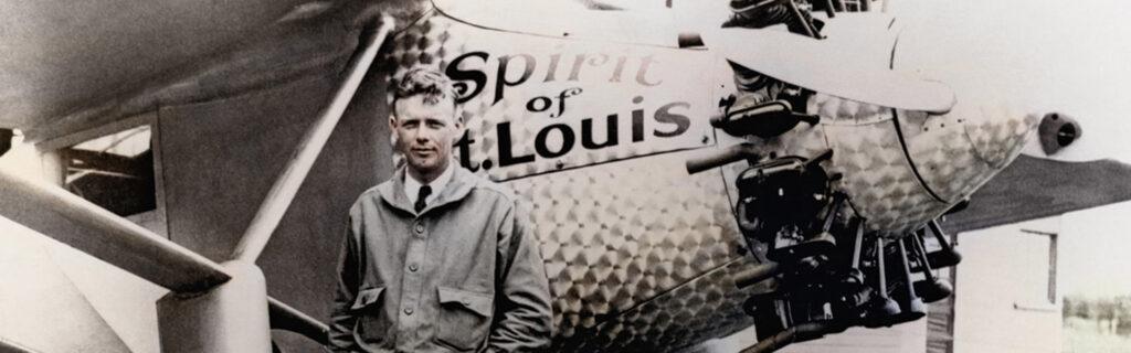 Charles Lindbergh y el Espiritu de San Luis