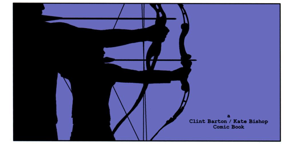 Clint Barton y Kate Bishop