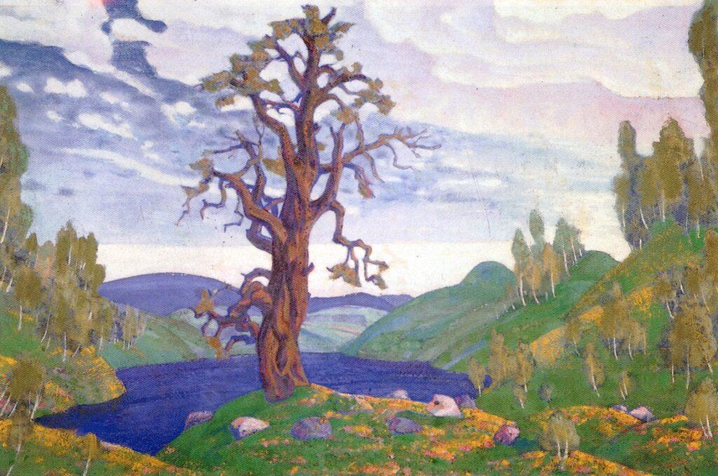Diseño Nicolas Roerich para la primera representación