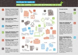 Consejos compra y consumo responsable UCO