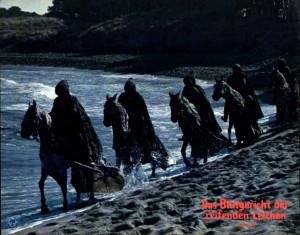 La noche de las gaviotas - templarios en la playa