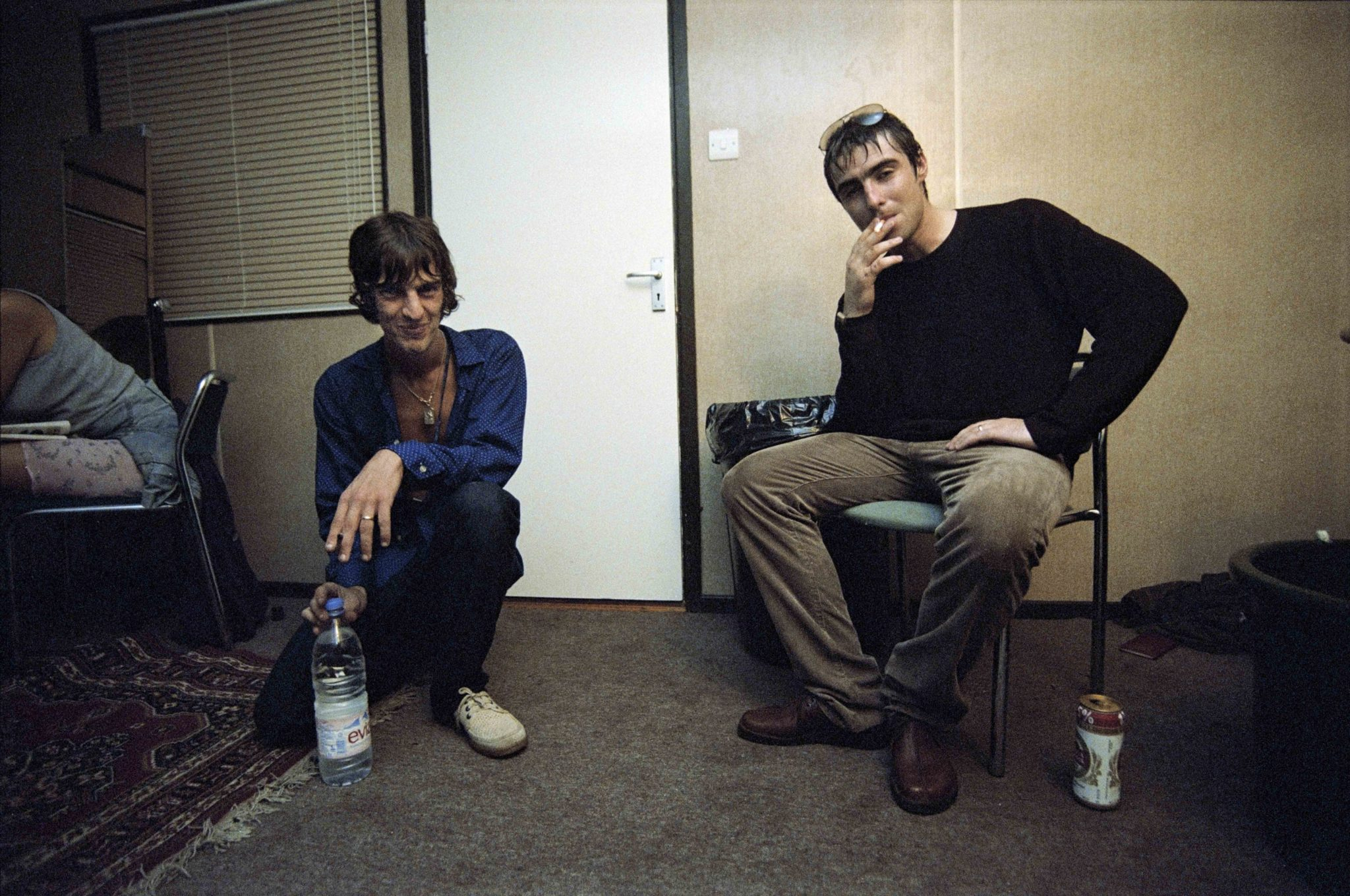 Liam Gallagher y Richard Ashcroft