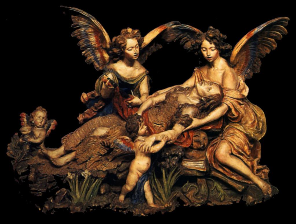 Luisa Roldan - La muerte de Maria Magdalena