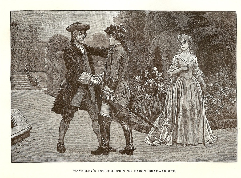 Waverley y Baron Bradwardine