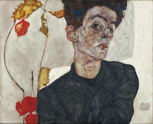 Egon Schiele - Autoretrato