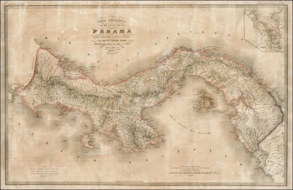 Mapa_del_Estado_de_Panamá_(1865)