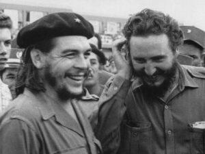 Che Guevara y Fidel Castro