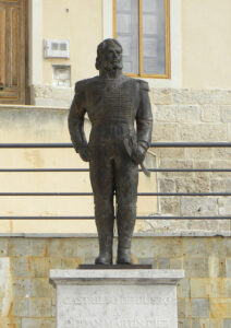 Estatua del Empecinado en Castrillo de Duero