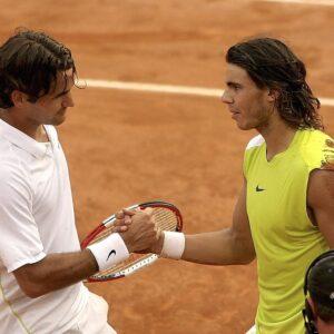 Federer y Nadal Roma 2006