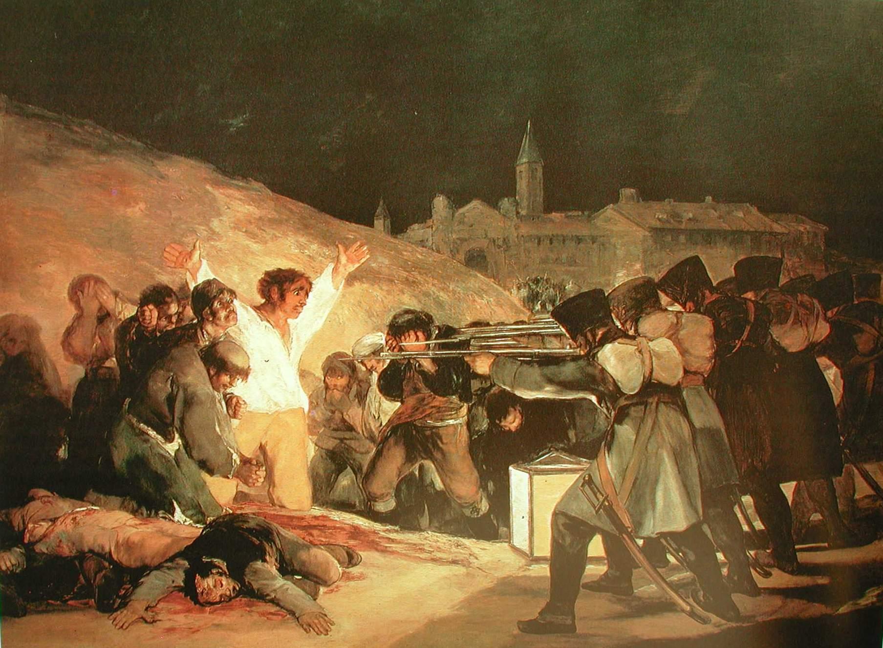 Fusilamientos 3 de mayo - Goya