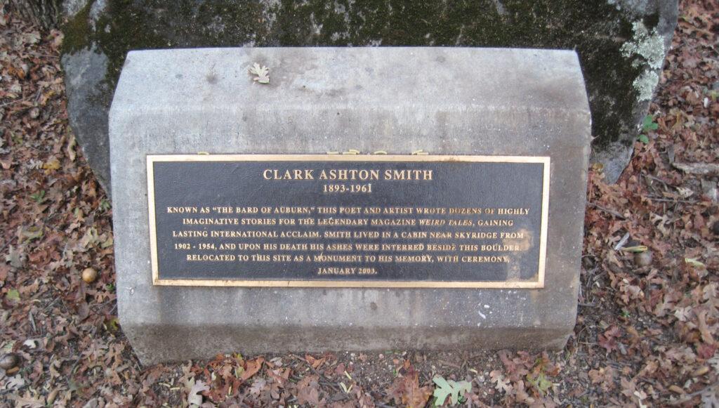 Clark Ashton Smith memorial