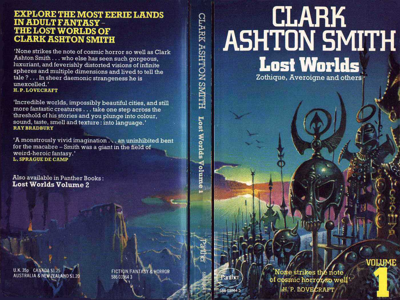 Lost Worlds Cover