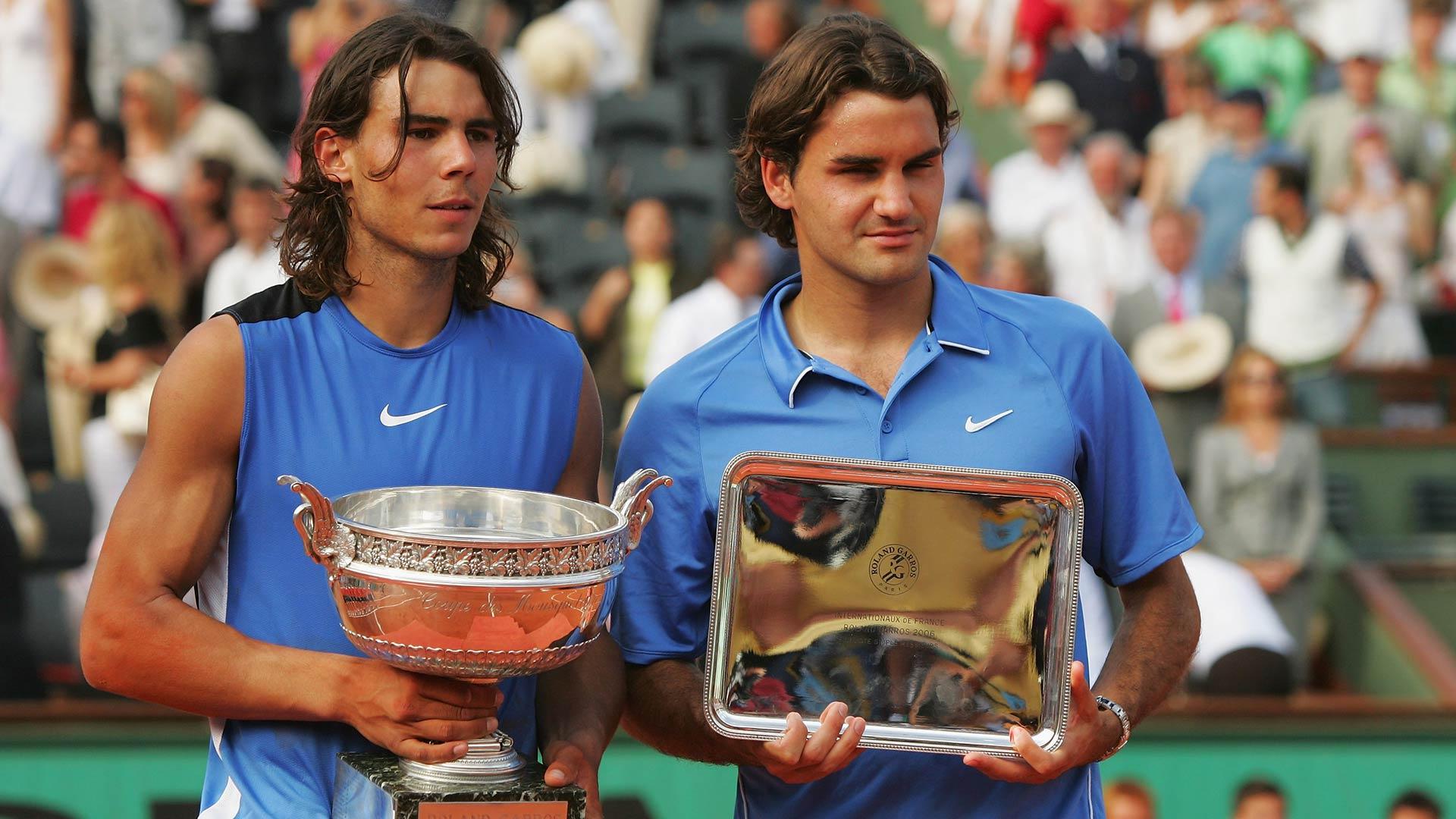 Rafa y Roger - RG '06 - EFE
