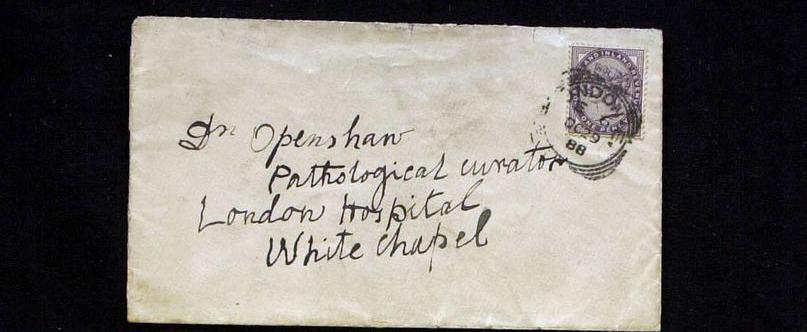 Sobre de la carta Openshaw