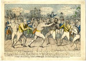 Cribb vs Molineaux, Thissleton 1811