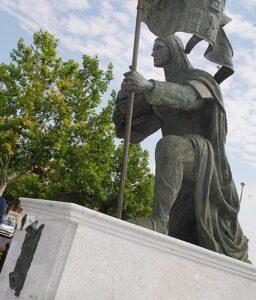 Estatua de Hernan Perez del Pulgar