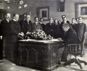 Jules Cambon en el Tratado de Paris