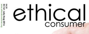 Ethical Consumer Cover main