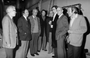 Foucault Barthes Boulez Deleuze entre otros