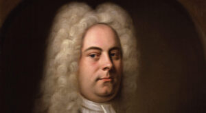 George Frideric Handel by Balthasar Denner (detail)