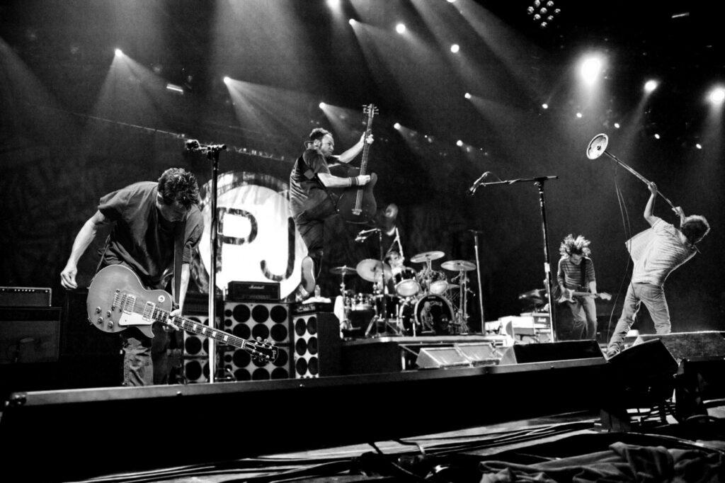 Pearl Jam en directo en los 90