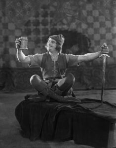 In celebration of the life and career of one of HollywoodÕs earliest movie stars, the Academy of Motion Picture Arts and Sciences will premiere its new exhibition, ÒDouglas Fairbanks: The First King of Hollywood,Ó on Saturday, January 24, at the AcademyÕs Fourth Floor Gallery in Beverly Hills.  Admission is free.   Pictured: Douglas Fairbanks in ROBIN HOOD