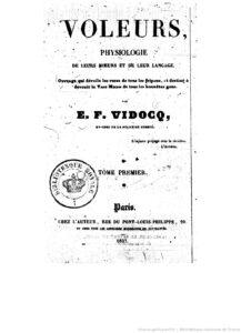 vidocq-physiologie