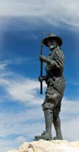 Estatua en honor a Wiebbe Hayes