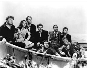Los naufragos de Lifeboat