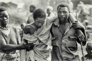 Imagen del genocidio de Ruanda