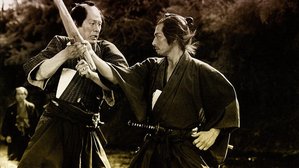 Lucha en El ocaso del samurai