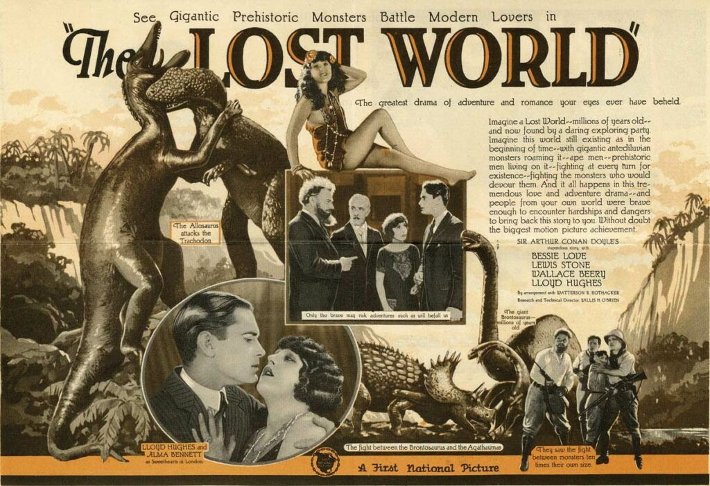 El mundo perdido 1925