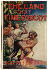 La tierra que olvido el tiempo, edicion uk 1925