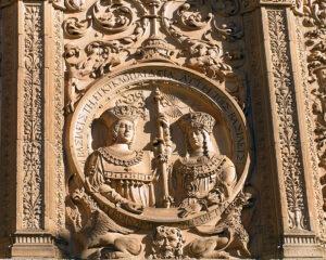 Medallon reyes catolicos