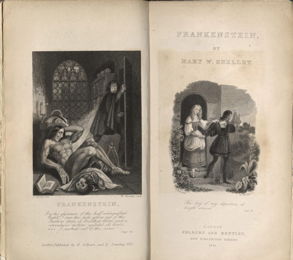 Portadas Frankenstein