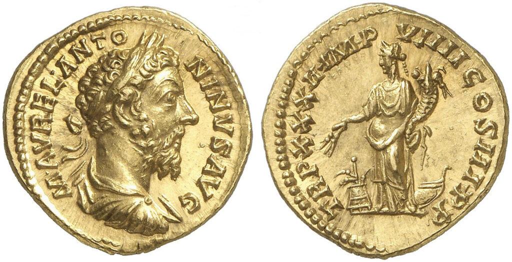 Moneda Marco Aurelio 01