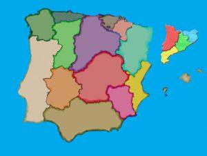 españa con cataluña como isla