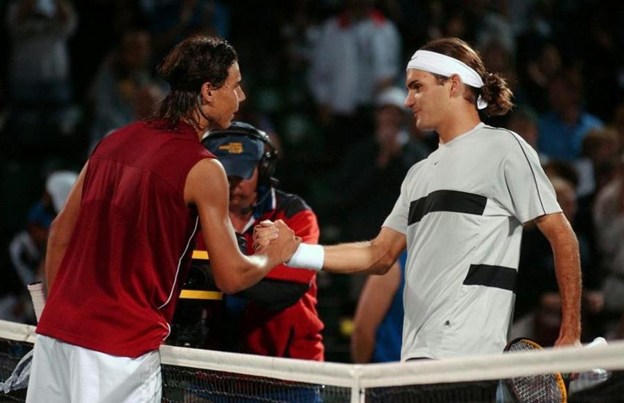 Federer vs Nadal I 01